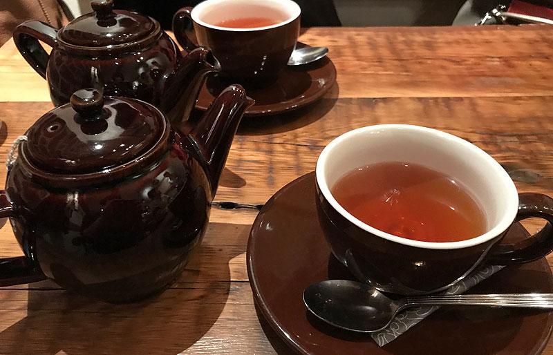 アップルパイの専門店 GRANNY SMITH APPLE PIE & COFFEE 紅茶