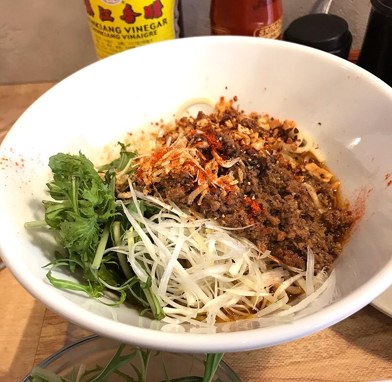 台湾粥専門店「カユゾー(KAYUZO) 池尻大橋店」汁なし担々麺