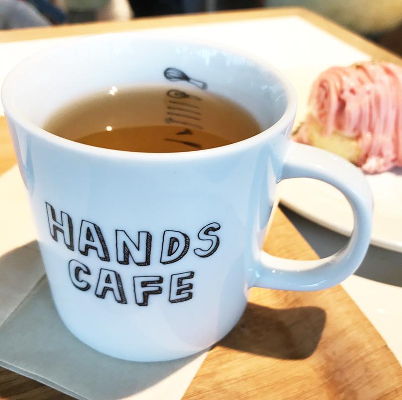 東急ハンズ渋谷店ハンズカフェ カモミールブレンド