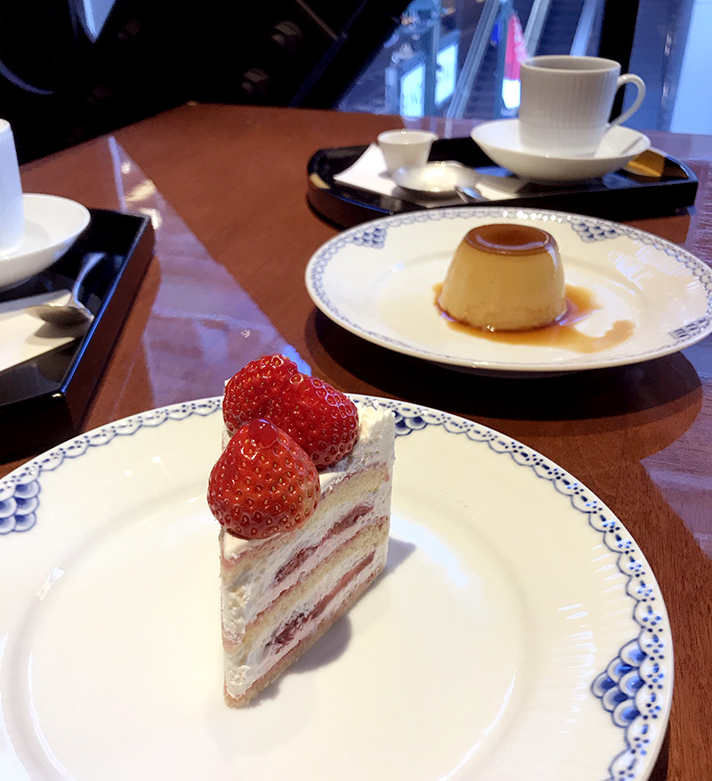 神乃珈琲 ケーキとプリン