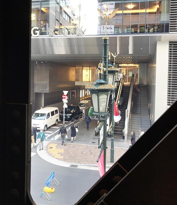 神乃珈琲窓側