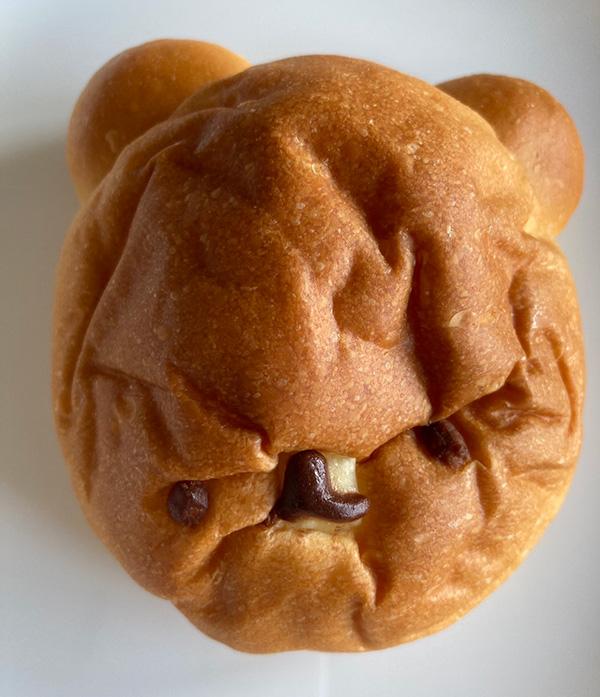 オリミネベーカリー 悲しいことになってしまったくまパン