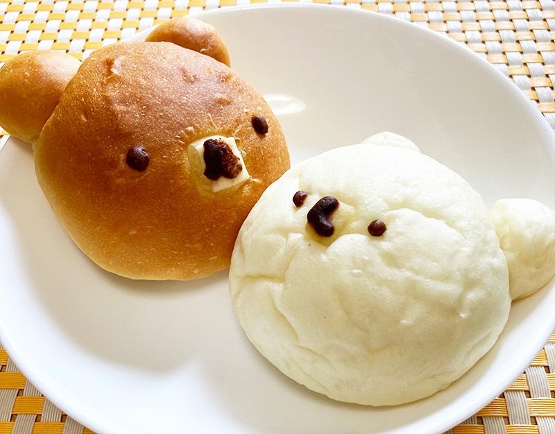 オリミネベーカリー 新大橋店 くまパン