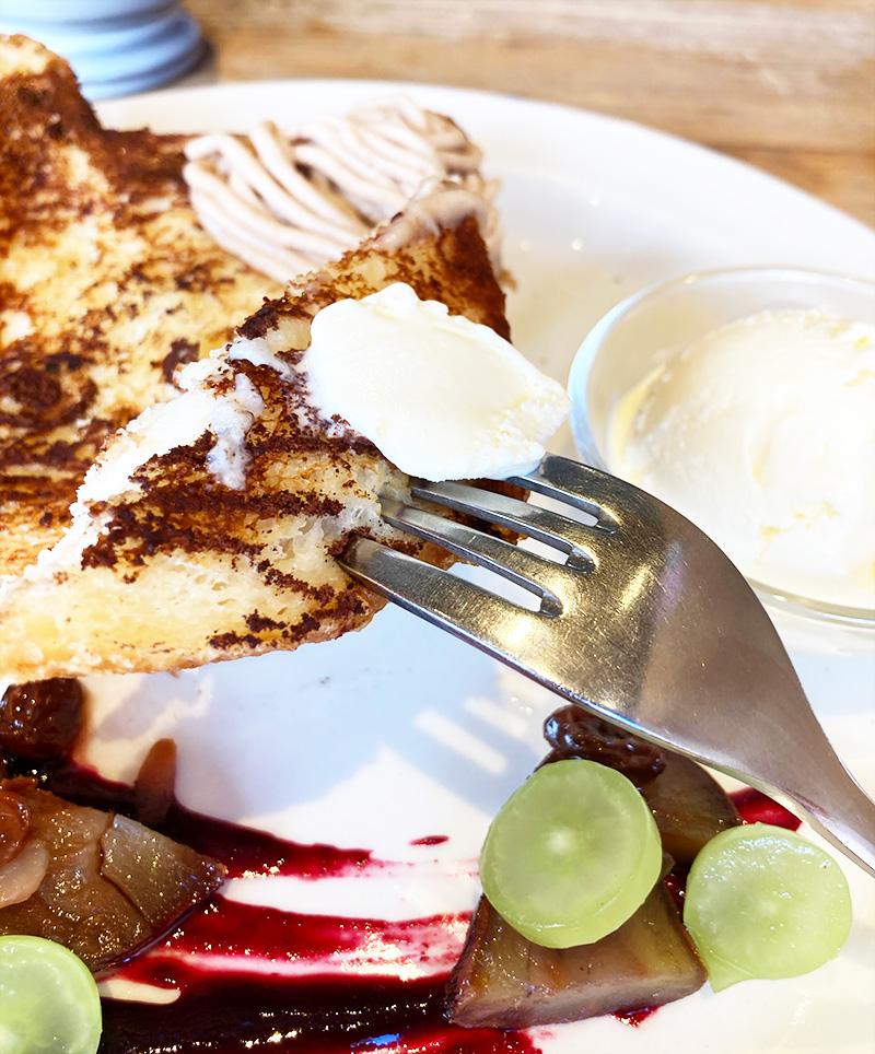 ねこねこ食パンフレンチトースト実食