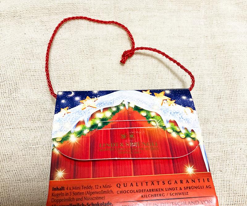 Lindt(リンツ)のクリスマスコレクション2020 ミニリンツティディバッグ