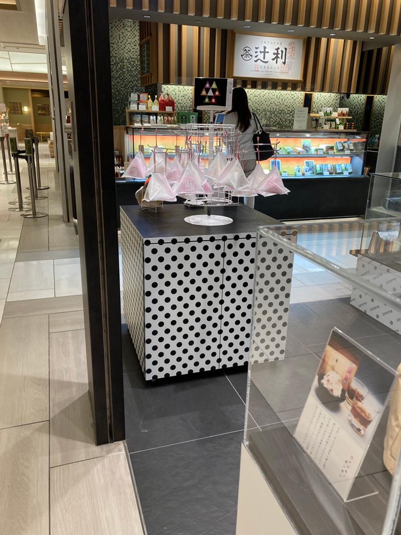 zarame gourmet cotton candy(ザラメ グルメコットンキャンディ)ディスプレイ