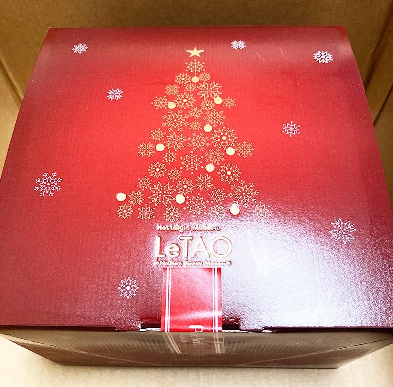 LeTAO(ルタオ)クリスマスチーズケーキ箱
